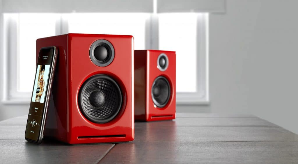 Audioengine 2+ Wireless - red