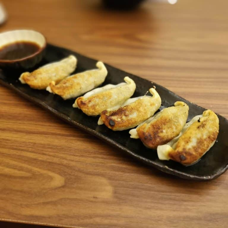 MicroBriefly: Okinawa tuna goreng gyoza