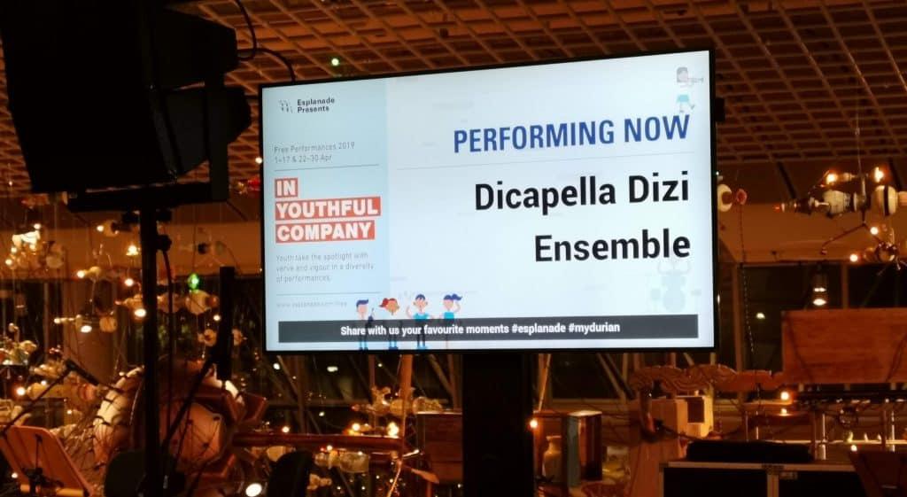 Dicappella Dizi Ensemble - Esplanade