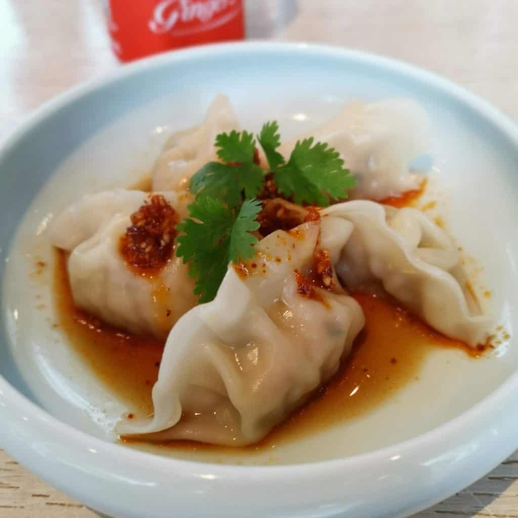 Ippudo - steamed spicy gyoza
