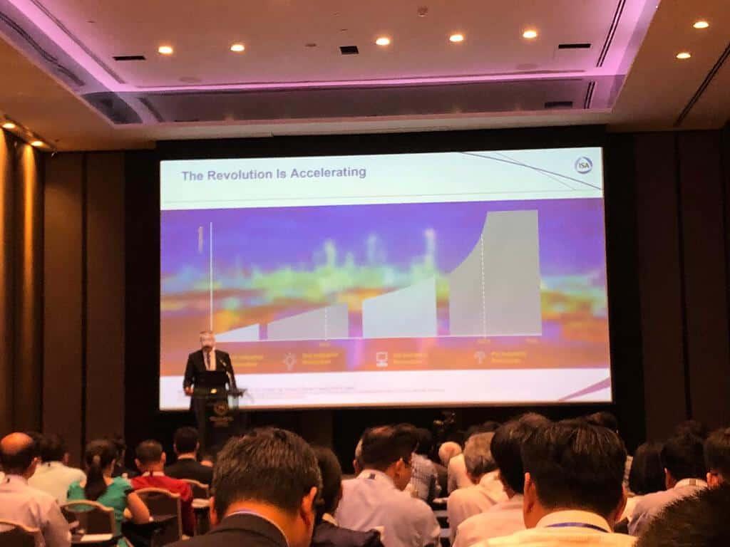 Mr Friedhelm Best, VP APAC, HIMA, at ISA Vietnam 2019 keynote