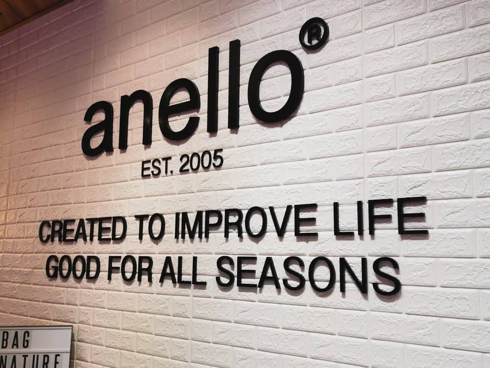 anello® at Jewel Changi Airport Singapore