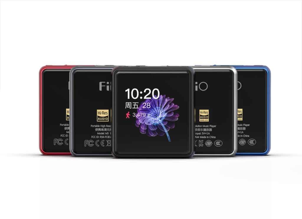 Fiio M5 hi-res lossless audio player (jangkauan)