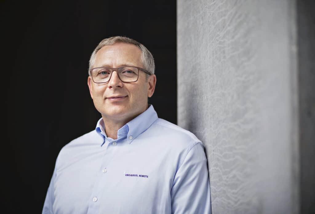 Jürgen von Hollen, président, Universal Robots