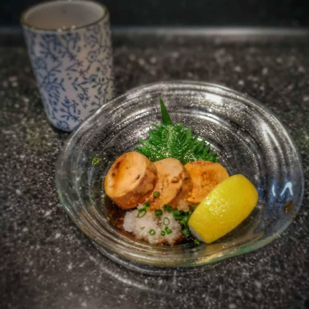Kuro Maguro (monkfish liver)