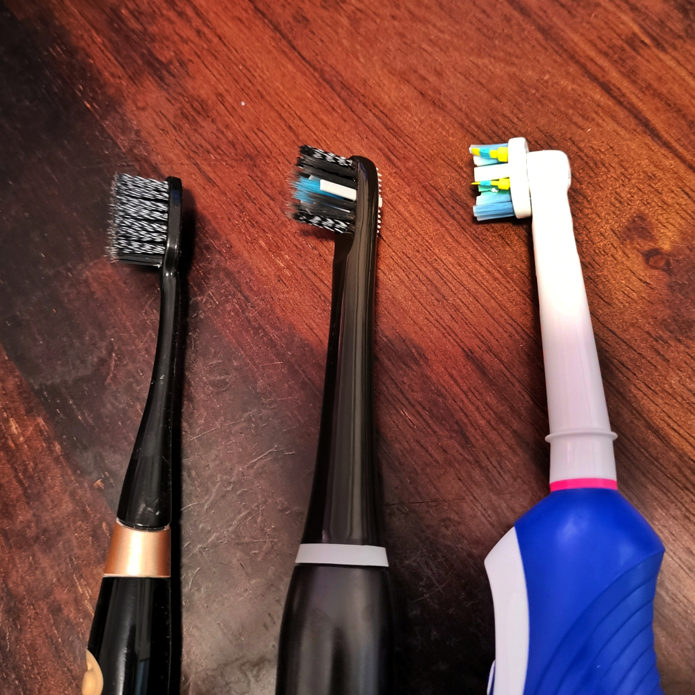 Electric Toothbrush - Systema, Colgate & Oral B close-up