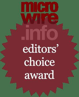 Microwire.info - Editors' Choice Award