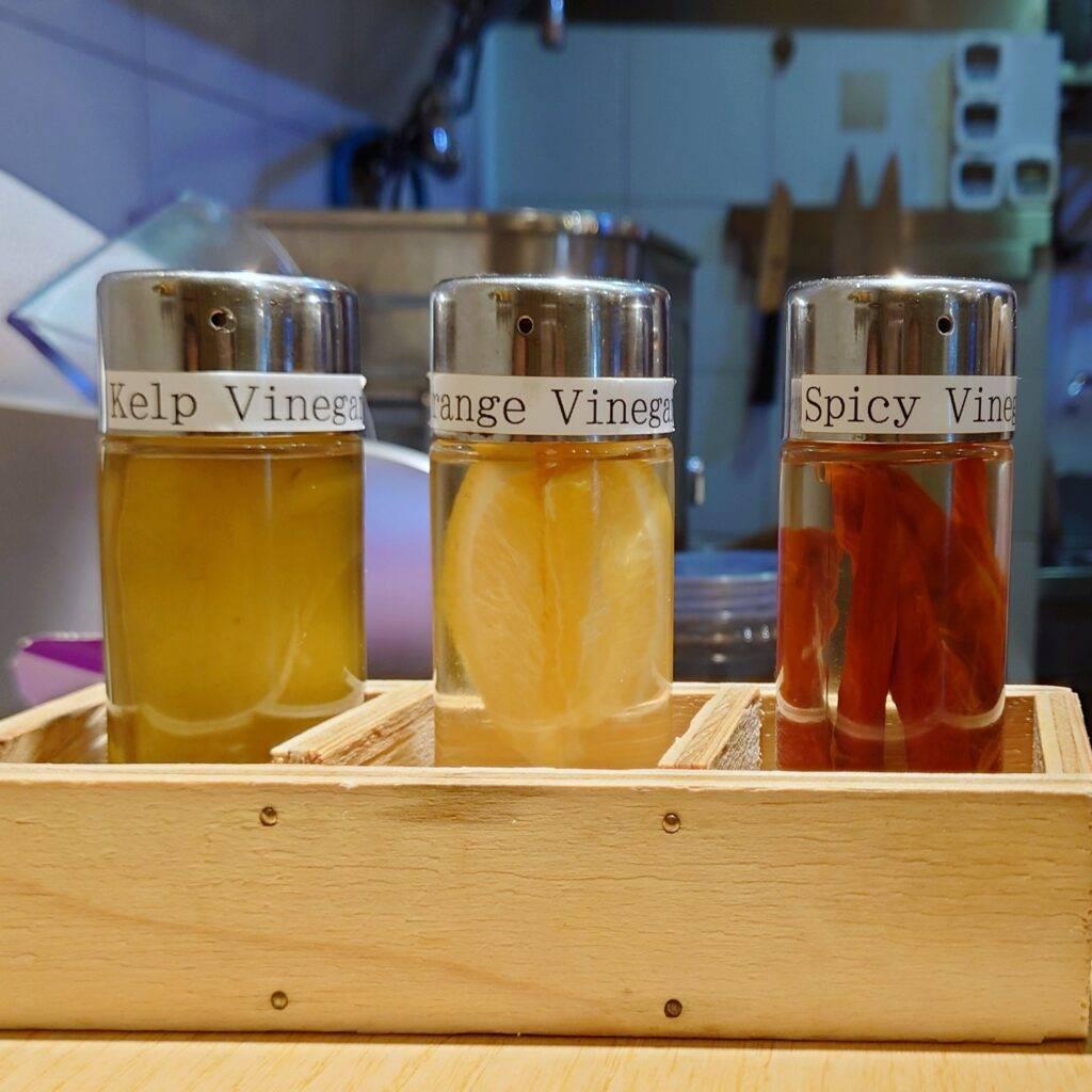 Enishi vinegar variants